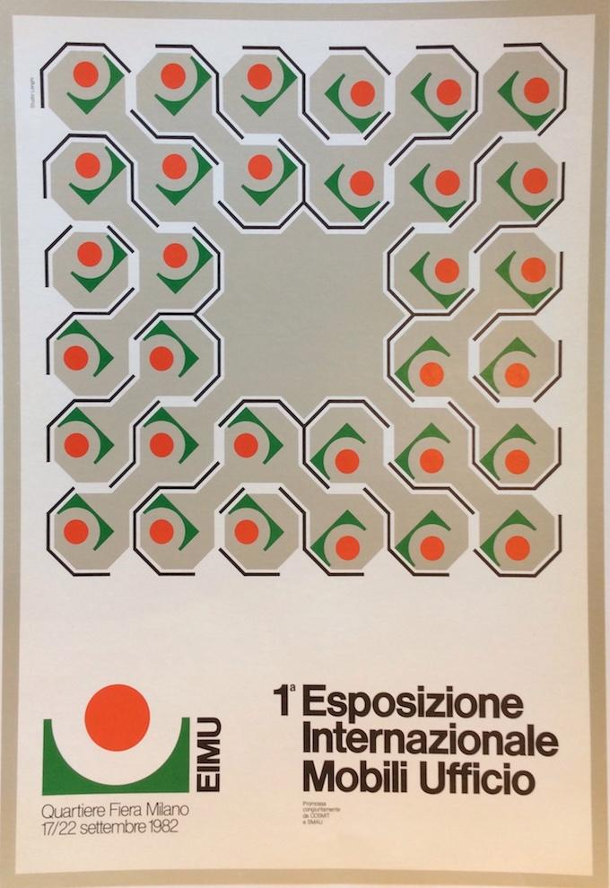 1a esposizione internazionale mobili ufficio milano 1982 for Mobili ufficio milano